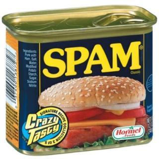 Spamdy Spam! Wonderful Spam!