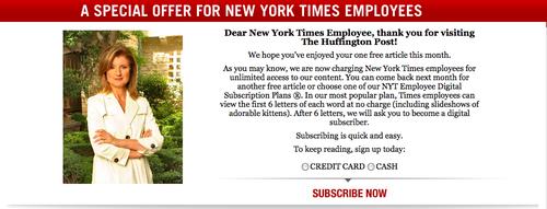 Huffington april fools