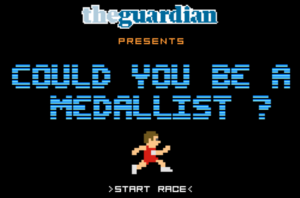 Guardian Could You Be a Medallist 2012 Olympic Ad