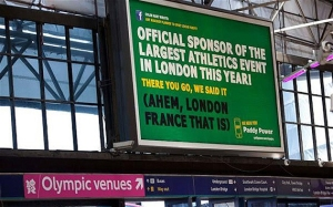 Paddy Power London, France 2012 Olympic Ad